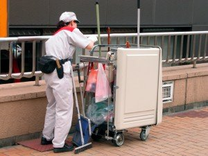 day porter ongoing cleaning service